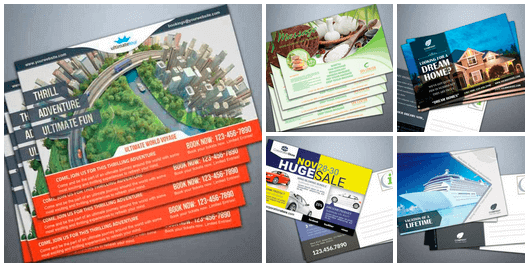 Infousa postcard marketing campaigns