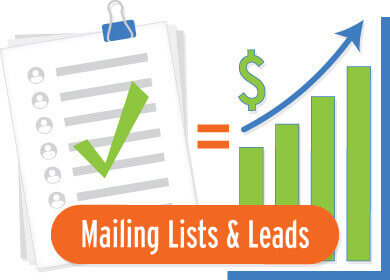 mailing lists and leads