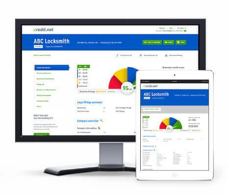 online business credit report